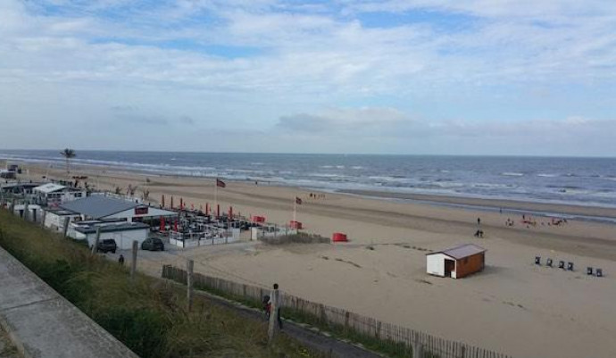Branding  Egmond aan zee september 2018