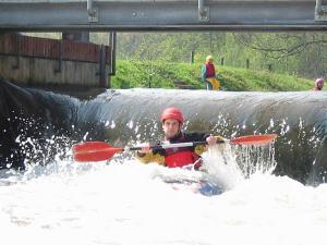 do not try this at home! These people are trained canoeists (-;)